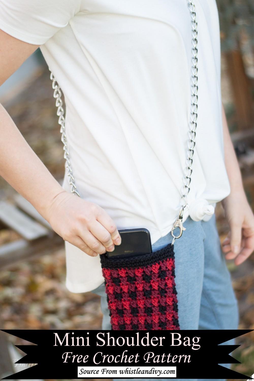 Mini Crochet Shoulder Bag Pattern
