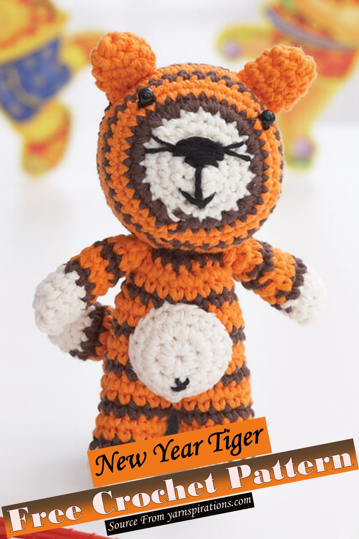New Year Tiger Crochet Pattern
