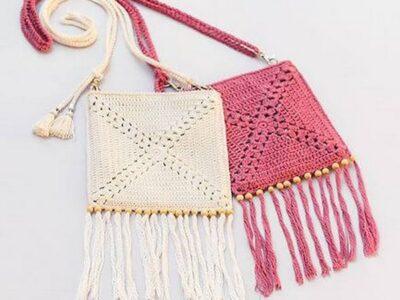 Summer Crochet Shoulder Bag Pattern