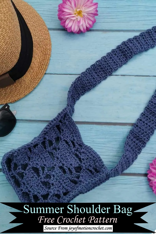 Summer Shoulder Bag Crochet Pattern