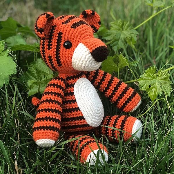 Thomas The Tiger Crochet Pattern