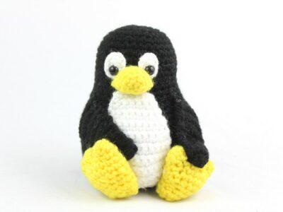 Tux The Penguin Amigurumi Crochet Pattern
