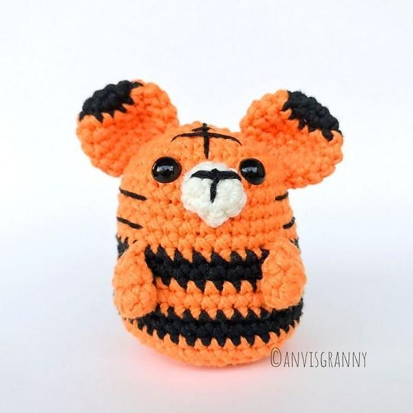 Zodiac Tiger Crochet Pattern
