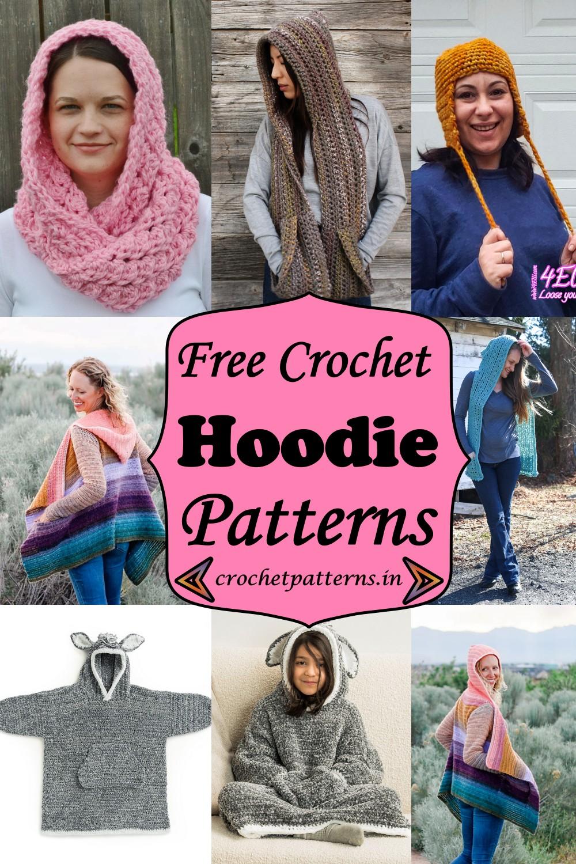 Crochet Hoodie Patterns 1