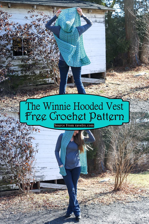 Crochet The Winnie Hooded Vest Pattern