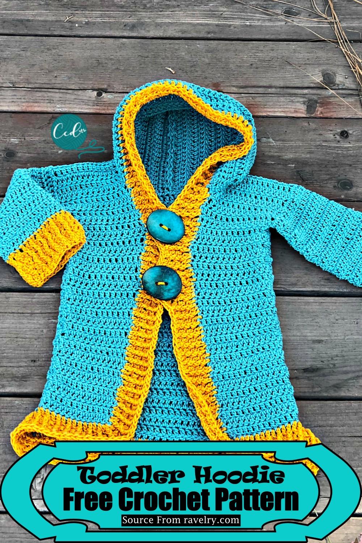 Crochet Toddler Hoodie Pattern