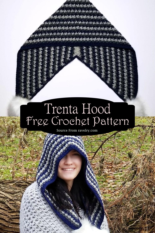 Crochet Trenta Hood Pattern